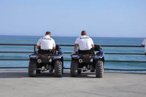 Walks - HB Police on Pier