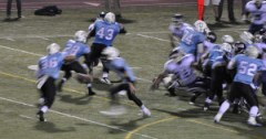 High School Football - VP running play