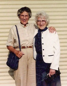 Peggy Stoner and Mom
