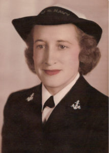 Gladys Wahlberg -- A WAVE in WWII