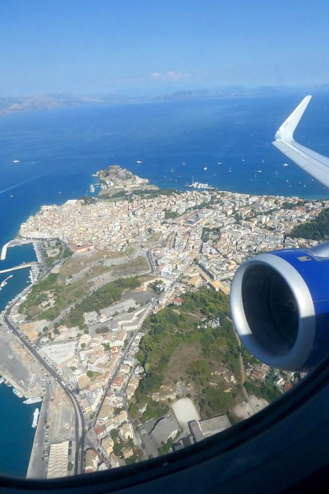 Leaving Corfu