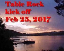 Table Rock Kick Off
