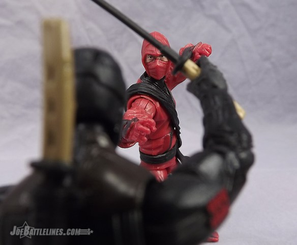 G.I. Joe Retaliation Red Ninja figure review
