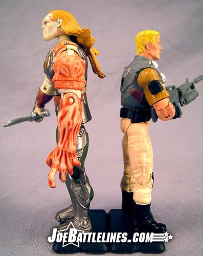 Duke & Venomous Maximus height comparison