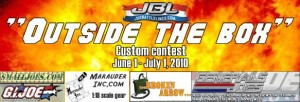 Outside the Box custom figure contest at JBL