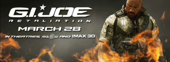 G.I. Joe Retaliation March 28