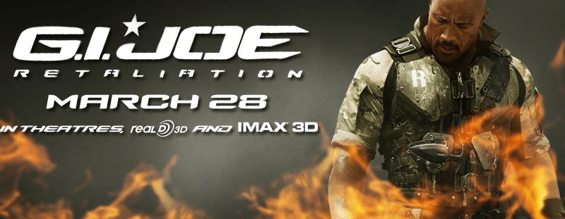 G.I. Joe Retaliation March 28
