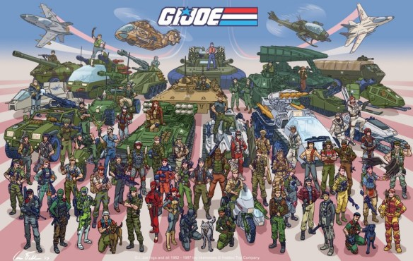 G.I. Joe poster by Ian Fell