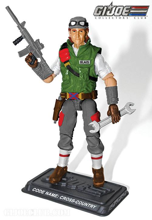 G.I. Joe Collector's Club Cross Country 2014