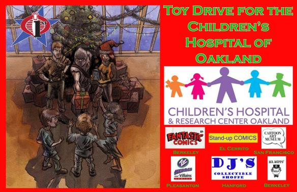 Cobra 1st Toy Drive