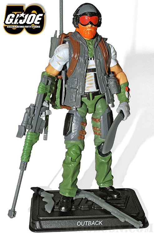 G.I. Joe Convention Zombie Hunter Outback