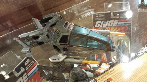 G.I. Joe Convention 2014 Steel Brigade Pilot & VTOL