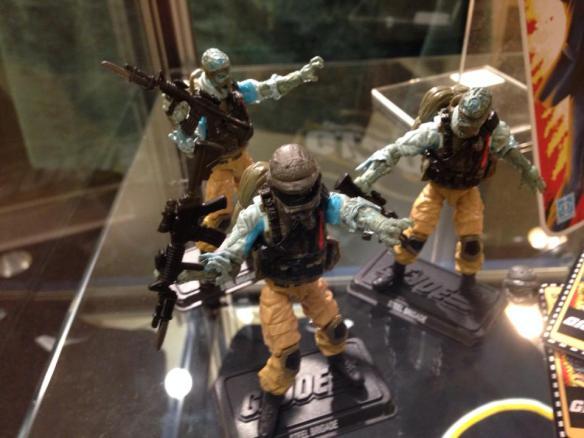 G.I. Joe Convention 2014 Steel Brigade Zombie 3-pack