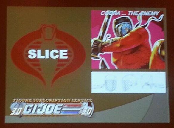 G.I. Joe Collector's Club FSS 3 Slice