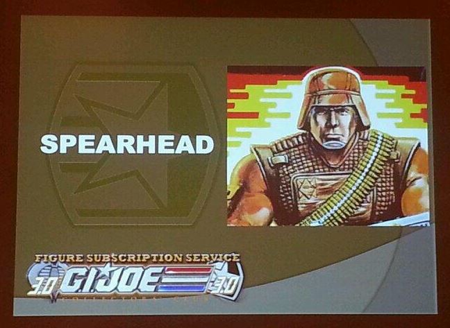 G.I. Joe Collector's Club FSS 3 Spearhead