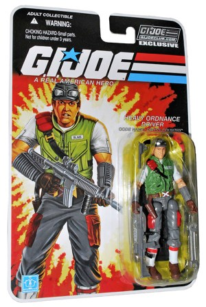 G.I. Joe Collector's Club Cross Country carded