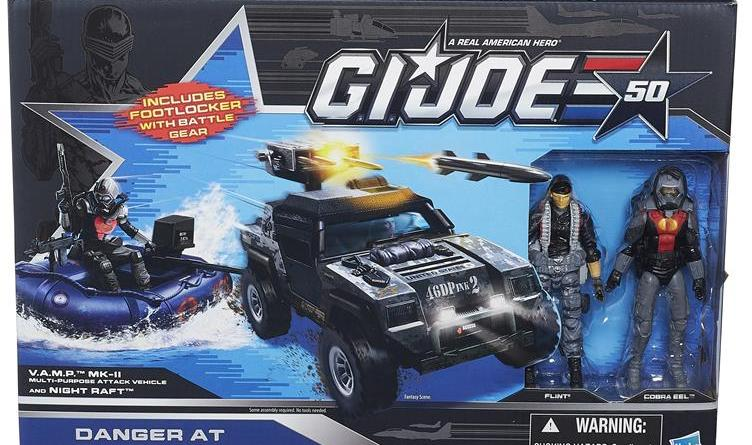 G.I. Joe 50th Anniversary Danger at the Docks