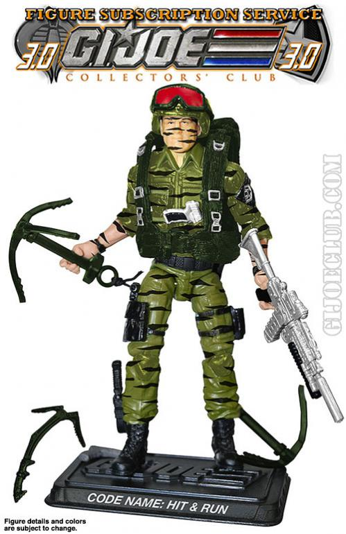 G.I. Joe Collector's Club FSS Hit & Run