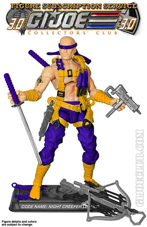 G.I. Joe Collector's Club FSS Night Creeper Leader
