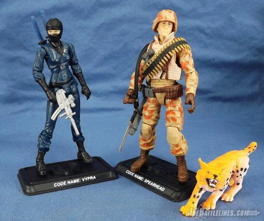 G.I. Joe FSS 3 Spearhead & Max Vypra