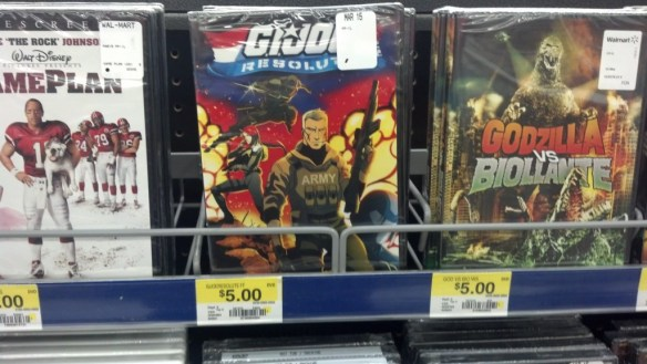 G.I. Joe Resolute at Walmart