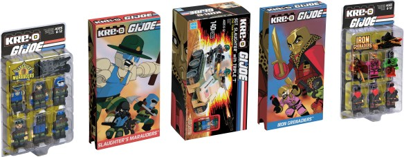 SDCC 2015 Kre-O Slaughter's Marauders inserts