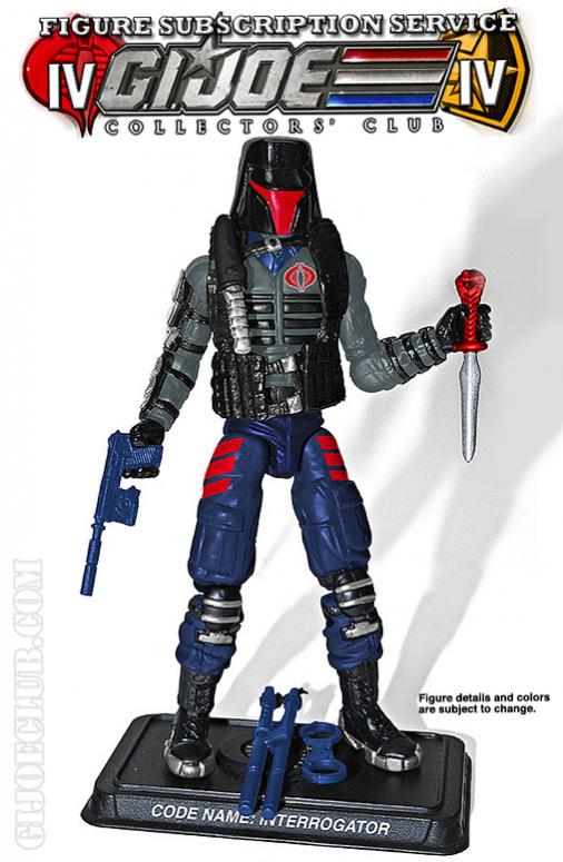 G.I. Joe Collector's Club FSS 4 Interrogator