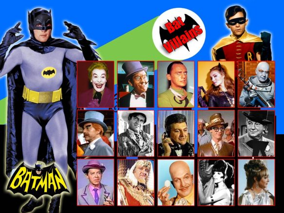 Batman 1960's villains