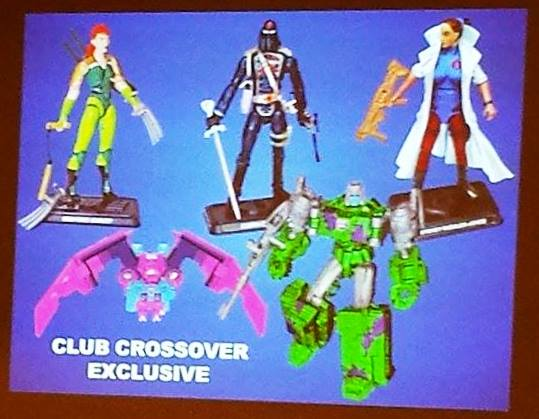GI Joe Vs. Transformers crossover set botcon 2016