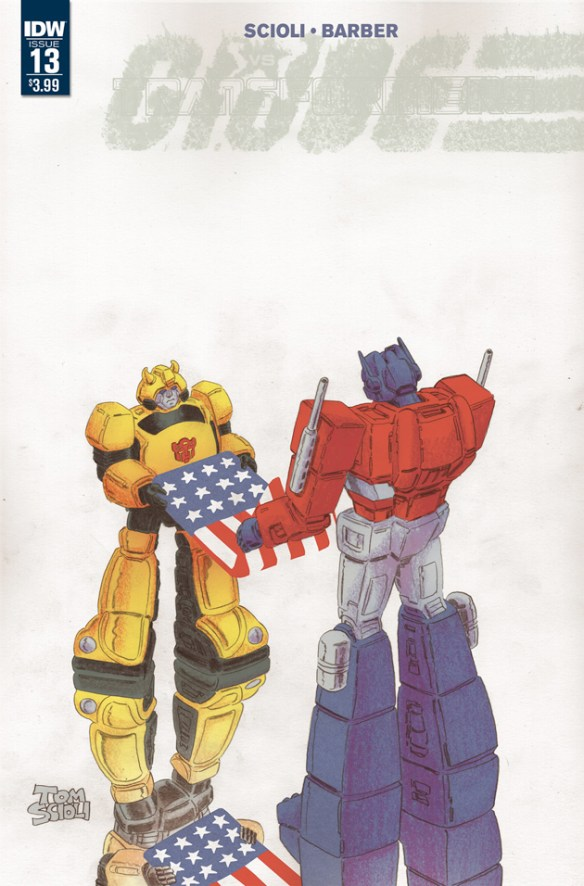 IDW G.I. Joe vs Transformers #13