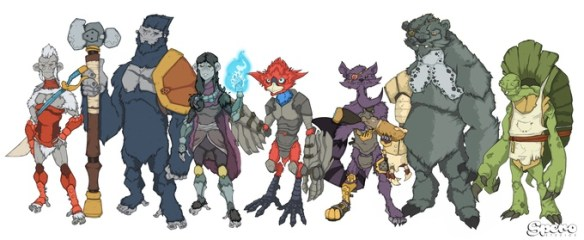 animal warriors of the kingdom cast