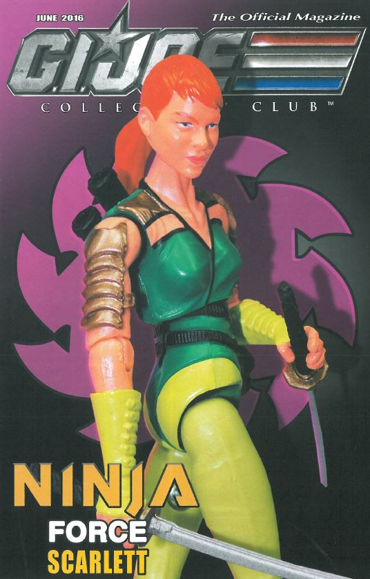 G.I. Joe Ninja Force Scarlett cover