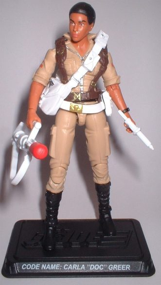G.I. Joe FSS 4 Carla Doc Greer