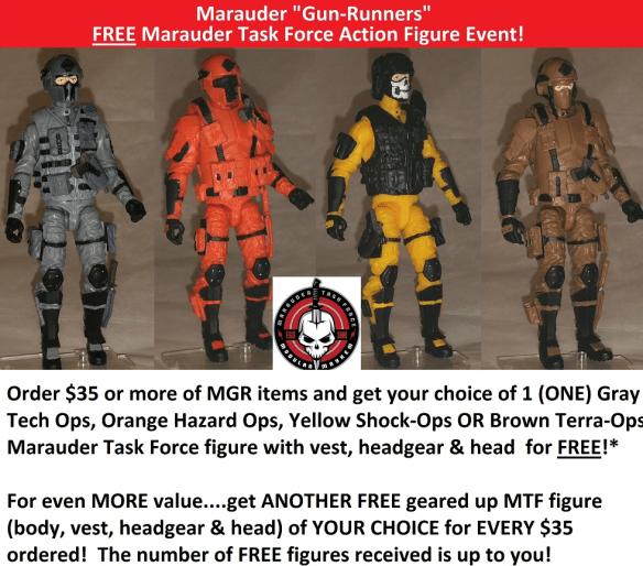 marauder task force free promo