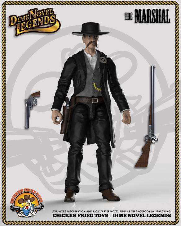 Dime Novel Legends Marshal