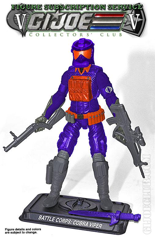 G.I. Joe FSS 5 Battle Corps Cobra Viper