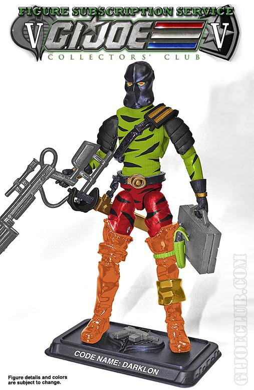 G.I. Joe FSS 5 Darklon