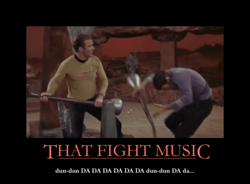 Star Trek fight music