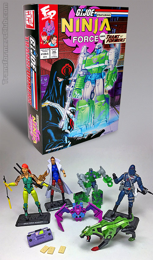 G.I. joe vs transformers 5-pack