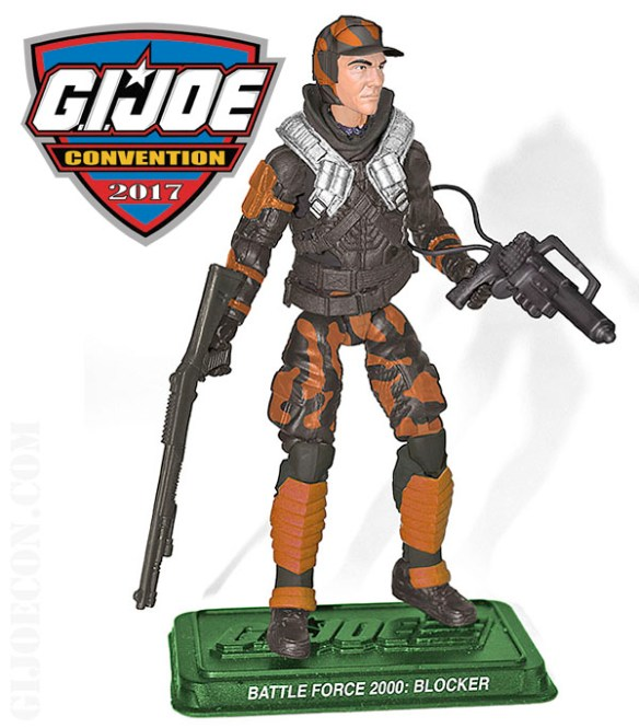G.I. Joe Con 2017 Battle Force 2000 Blocker