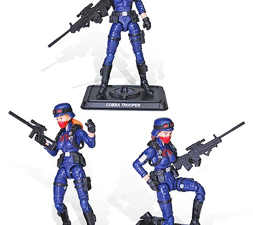 G.I. Joe Club Female cobra troopers