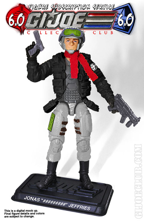 G.I. Joe FSS 6 Jonas Ghostrider Jeffries
