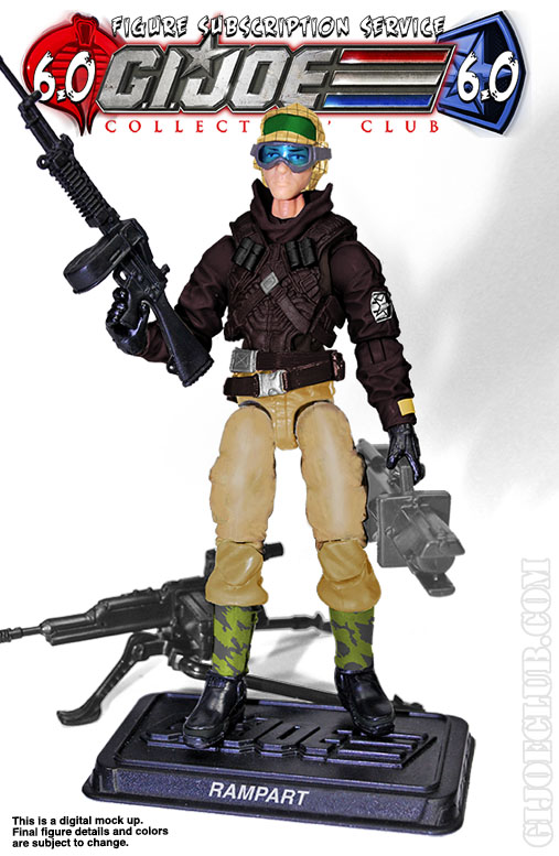 G.I. Joe FSS 6 Rampart