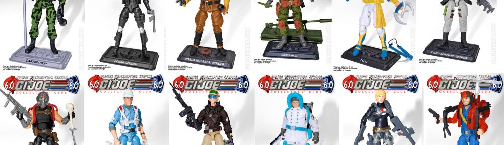 G.I. Joe Collector's Club FSS 6 roster