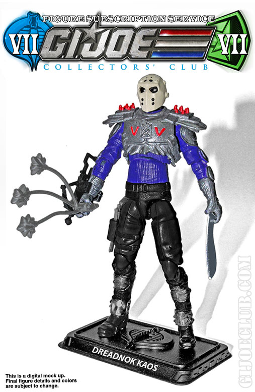 G.I. Joe Collector's Club FSS 7 Dreadnok Kaos