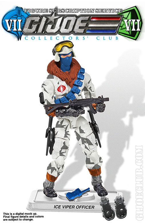 G.I. Joe Collector's Club FSS 7 Ice Viper Officer