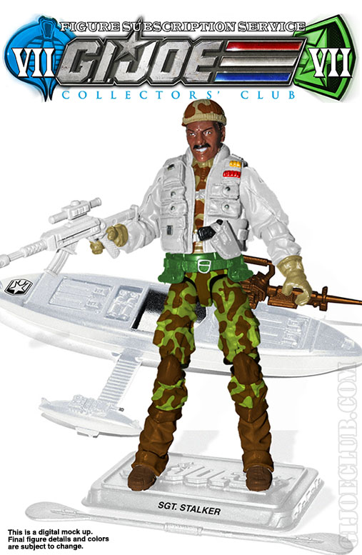 G.I. Joe Collector's Club FSS 7 Tundra Ranger Stalker