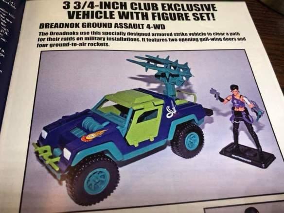 G.I. Joe Collector's Club Heartwrencher Dreadnok Ground Assault