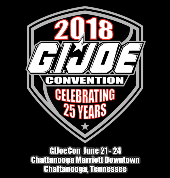 GIJoeCon 2018 logo