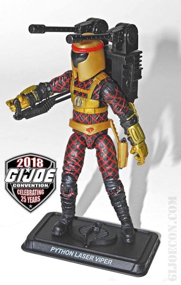 GIJoeCon 2018 Python Patrol Laser Viper